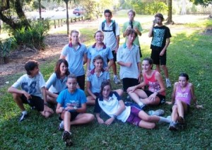 Cairns Road Runners Junior Training Group 2009